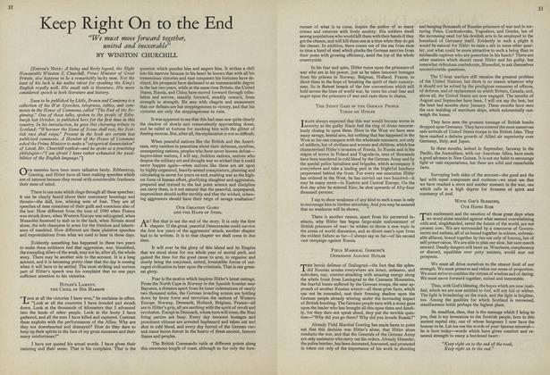 Article Preview: Keep Right On to the End, July 15 1943 | Vogue