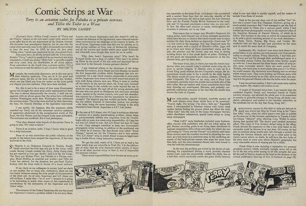 Article Preview: Comic Strips at War, July 15 1943 | Vogue