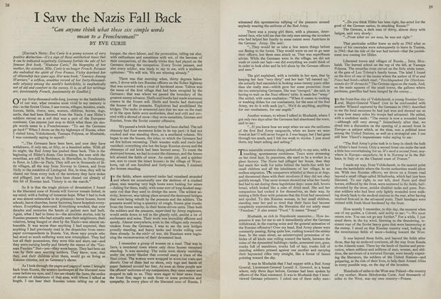 Article Preview: I Saw the Nazis Fall Back, July 15 1943 | Vogue