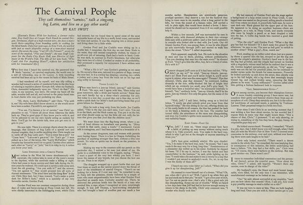 Article Preview: The Carnival People, July 15 1943 | Vogue