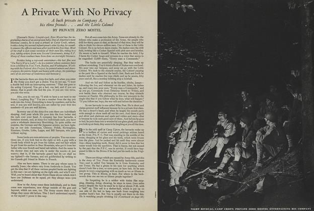 Article Preview: A Private With No Privacy, July 15 1943 | Vogue