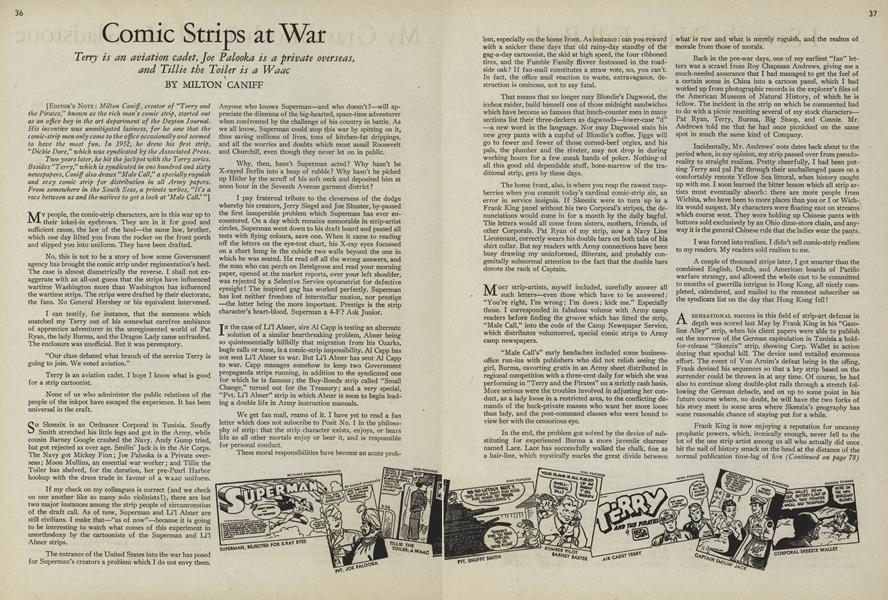 Comic Strips at War