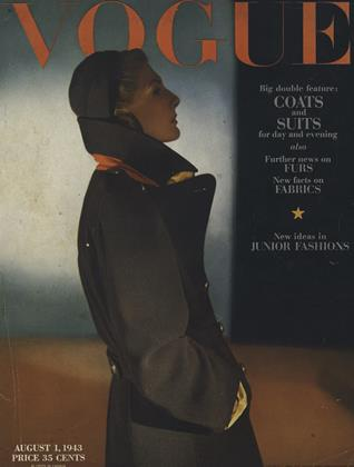 Cover for the August 1 1943 issue
