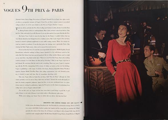 Vogue's 9th Prix de Paris