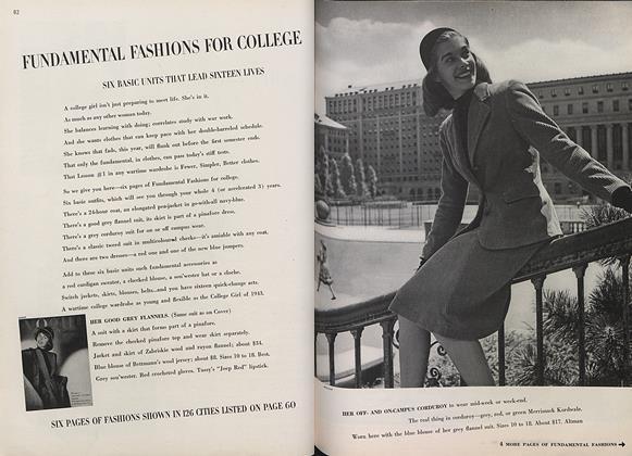 Fundamental Fashions for College
