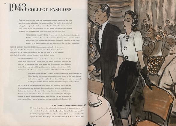 1943 College Fashions
