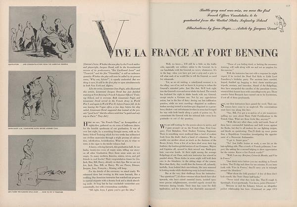 Vive La France at Fort Benning