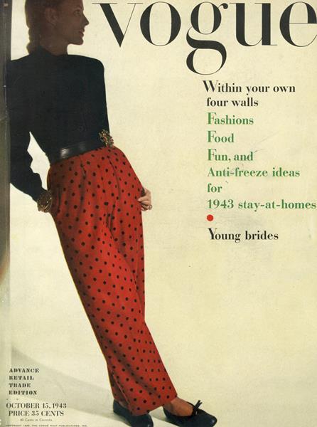 Issue: - October 15 1943 | Vogue