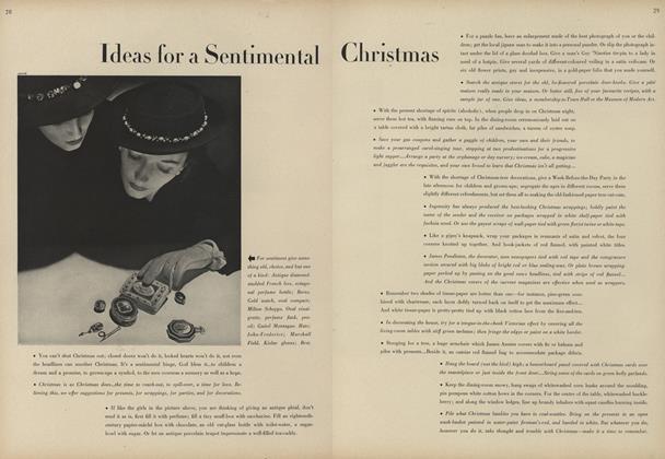 Ideas for a Sentimental Christmas