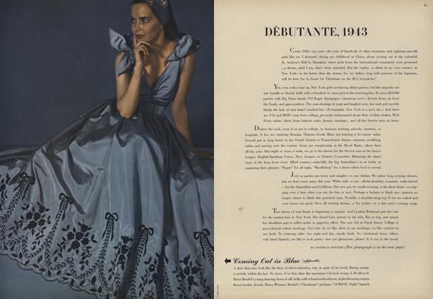 Debutante, 1943