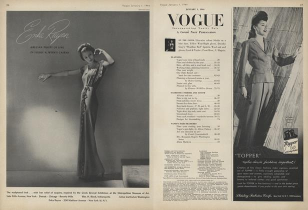 Article Preview: , January 1 1944 | Vogue