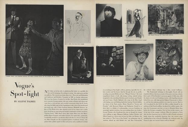 "Article Preview: ""Carmen Jones""/Joe E. Lewis..., January 1 1944 | Vogue"