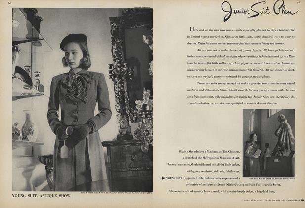 Article Preview: Junior Suit Plan, January 1 1944 | Vogue
