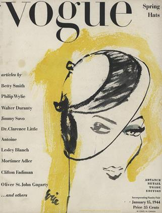Cover for the January 15 1944 issue
