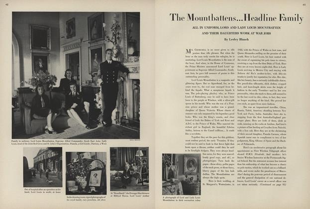 The Mountbattens...Headline Family