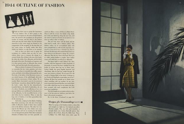 1944 Outline of Fashion