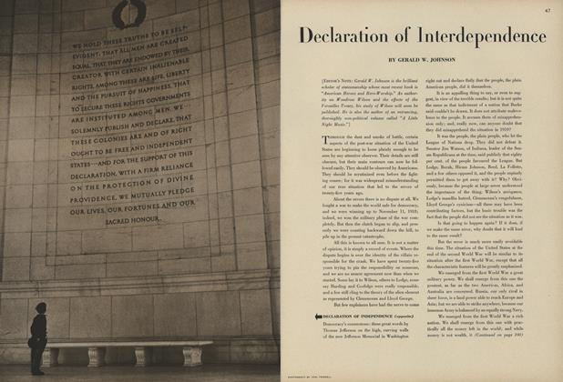 Article Preview: Declaration of Interdependence, February 1 1944 | Vogue