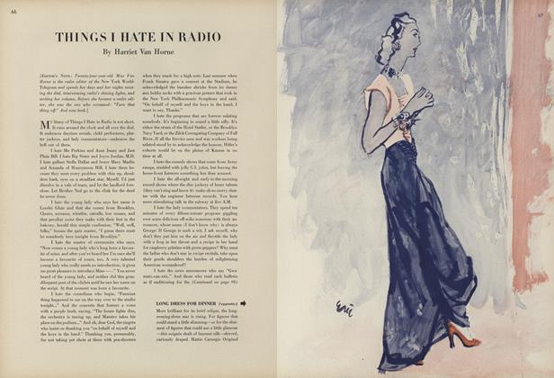 Article Preview: Things I Hate in Radio, February 1 1944 | Vogue