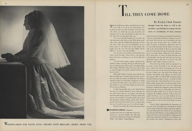 Article Preview: Till They Come Home, February 1 1944 | Vogue