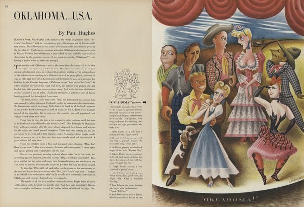 Article Preview: Oklahoma...U.S.A., February 1 1944 | Vogue