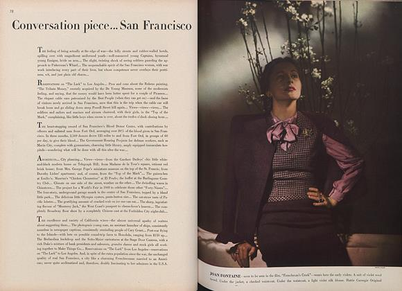 Article Preview: Conversation Piece... San Francisco, March 15 1944 | Vogue