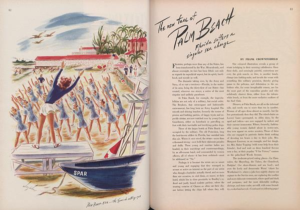 Article Preview: The New Face of Palm Beach, March 15 1944 | Vogue