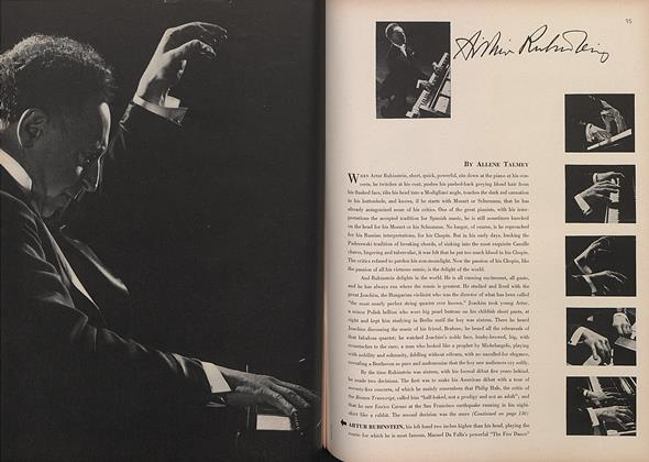 Article Preview: Artur Rubinstein, March 15 1944 | Vogue