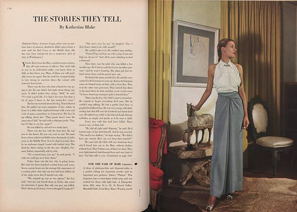 Article Preview: The Stories They Tell, March 15 1944 | Vogue