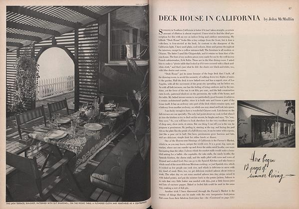 Article Preview: Deck in California, April 1 1944 | Vogue