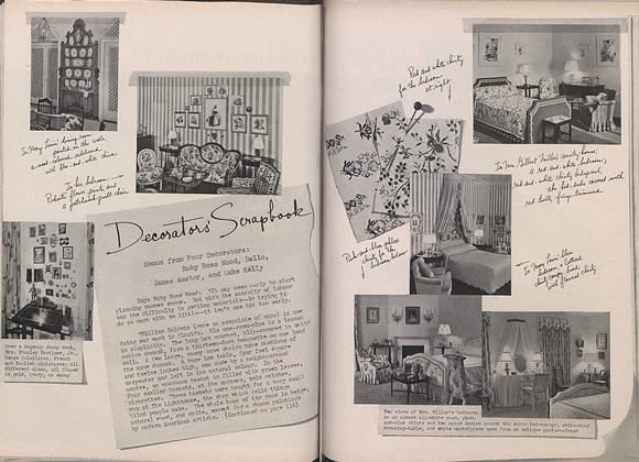 Article Preview: Decorators' Scrapbook, April 1 1944 | Vogue