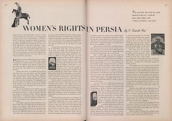 Article Preview: Women's Rights in Persia, April 1 1944 | Vogue