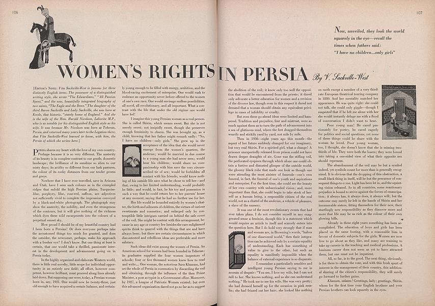 Women's Rights in Persia