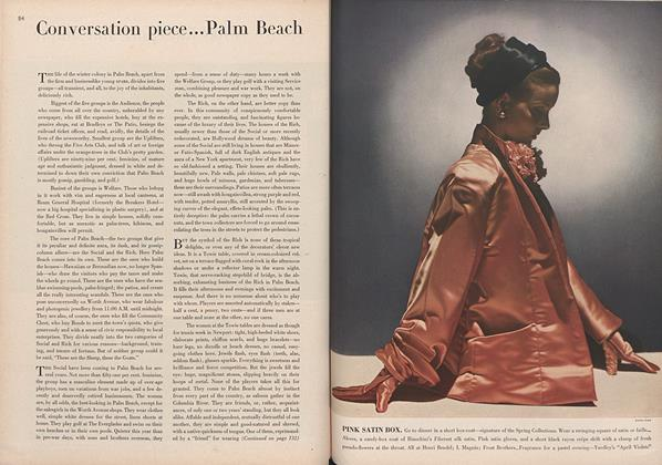 Article Preview: Conversation Piece...Palm Beach, April 15 1944 | Vogue
