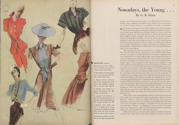 Article Preview: Nowadays, the Young..., April 15 1944 | Vogue