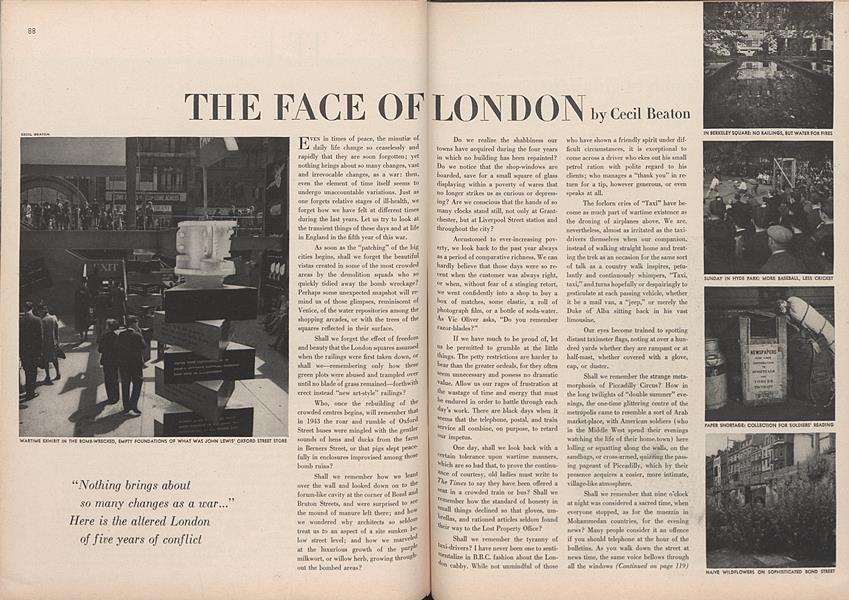 The Face of London