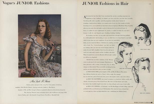 Junior Fashions in Hair