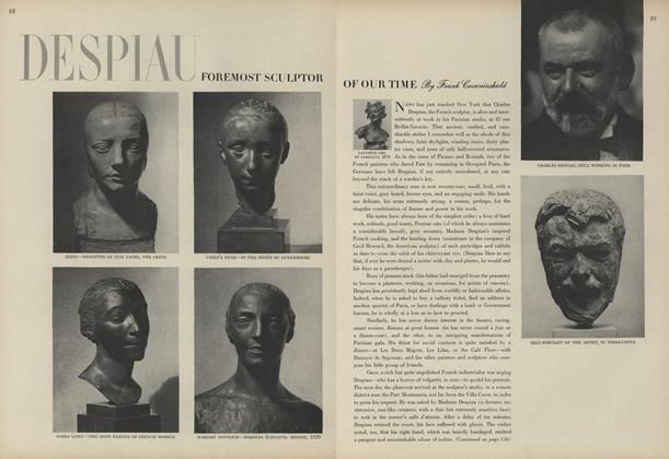 Despiau: Foremost Sculptor of Our Time