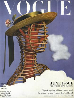 Cover for the June 1944 issue