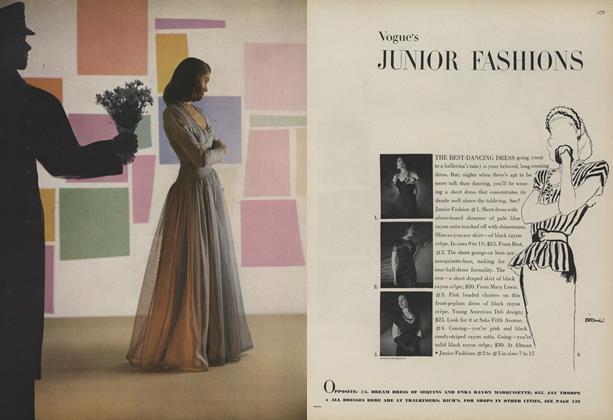 Vogue Junior Fashions