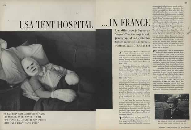 U.S.A. Tent Hospital in France