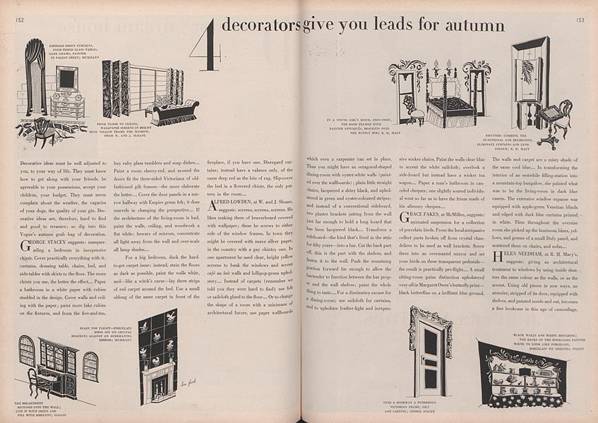 4 Decorators Give You Leads for Autumn