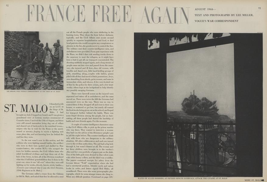 France Free Again