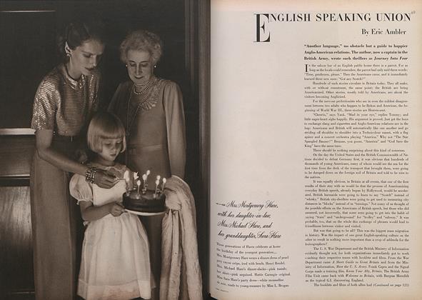 Three Generations of Hares/English Speaking Union