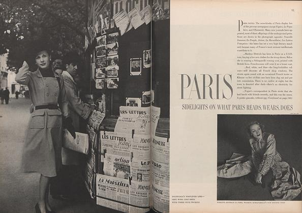 Paris Fashions: Sidelights on What Paris Reads, Wears, Does