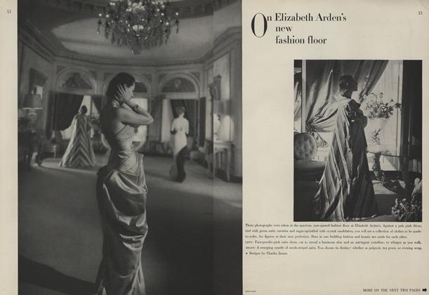 On Elizabeth Arden's New Fashion Floor/Custom-made Figures for Custom-made Clothes