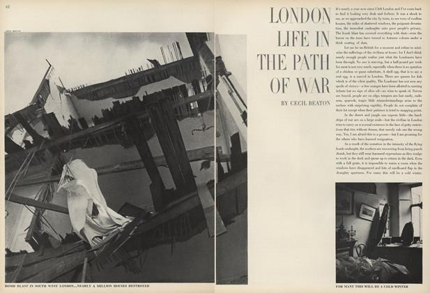 London Life in the Path of War