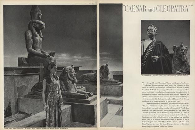 """Caesar and Cleopatra"""