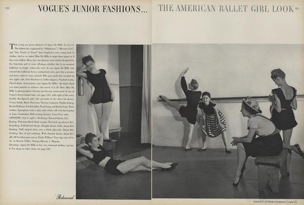 The American Ballet Girl Look