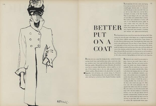 Better Put on a Coat