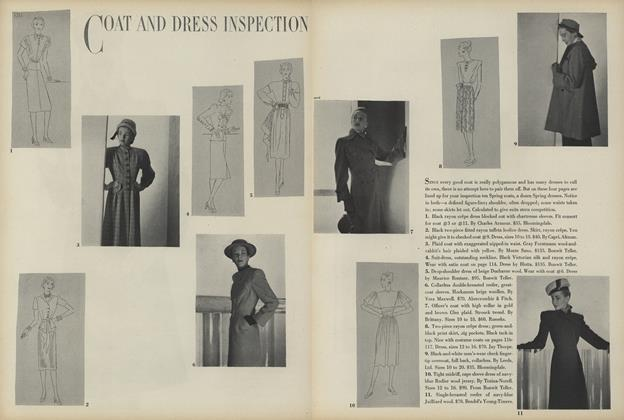 Coat and Dress Inspection